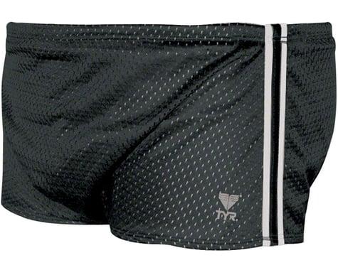 Tyr Poly Mesh Swim Trainer Resistance Shorts: Black Size 34
