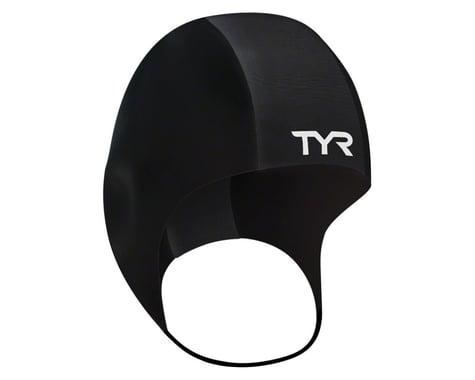 Tyr Neoprene Swim Cap: Black, SM