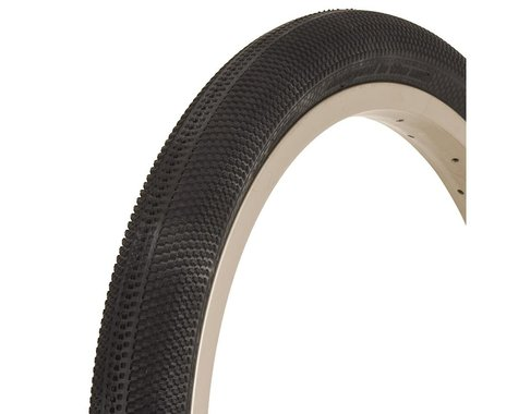 Vee Tire Co. Micro Knobby MK3 Tire - 24 x 1, Clincher, Folding, Black, 72tpi
