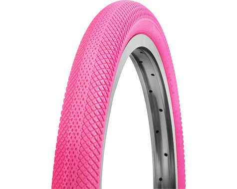 Vee Rubber Vee Tire Co. Speedster BMX Tire - 20 x 1.5, Clincher, Folding, Pink, 90tpi