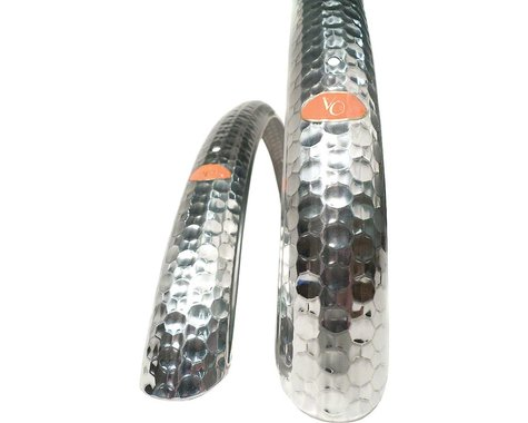 Velo Orange FENDER VOR HAMMERED (Silver) (45)