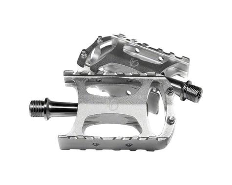 """Velo Orange Touring Pedals - Platform, Aluminum, 9/16"""", Silver"""