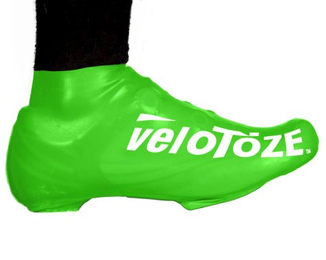 VeloToze Short Shoe Cover 1.0 (Viz-Green) (S/M)