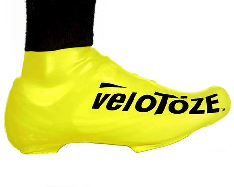 VeloToze Short Shoe Cover 1.0 (Viz Yellow) (S/M)
