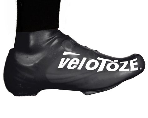 VeloToze Short Shoe Cover 1.0 (Black) (S/M)