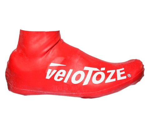 VeloToze Short Shoe Cover 2.0 (Red) (L/XL)