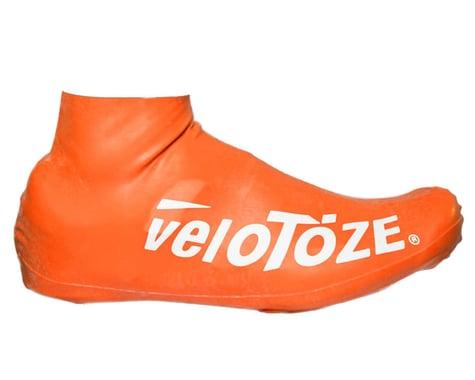 VeloToze Short Shoe Cover 2.0 (Viz Orange) (S/M)