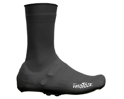 VeloToze Silicone Cycling Shoe Covers (Black) (L)