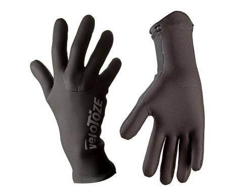 VeloToze Waterproof Cycling Gloves (Black) (L)