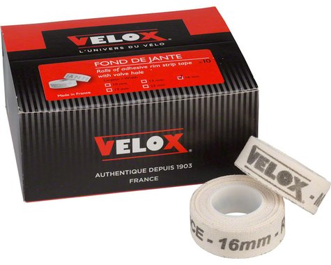 Velox 10mm Cloth Rim Tape (10 Pack)