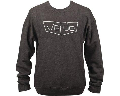 Verde Shield Crew Sweatshirt (Heather Black) (2XL)