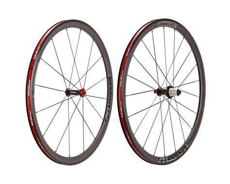 Vision Team 35 700c Clincher Rim Brake Wheelset (Black)