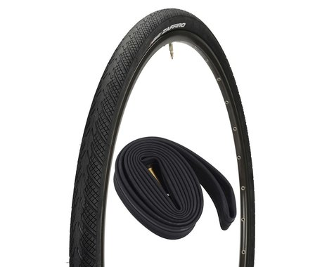 Vittoria Zaffiro Road Tire w/ 48mm Presta Tube (700 x 25)