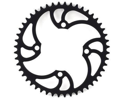 Von Sothen Racing 4-Bolt Pro Chainring (Black) (48T)