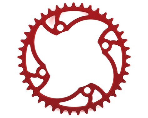Von Sothen Racing 4-Bolt Pro Chainring (Red) (41T)