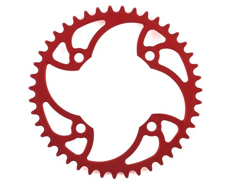 Von Sothen Racing 4-Bolt Pro Chainring (Red) (43T)