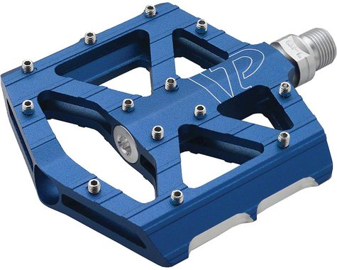 "VP Components All Purpose Pedals - Platform, Aluminum, 9/16"", Blue"
