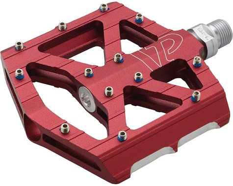 "VP Components All Purpose Pedals (Red) (Aluminum) (9/16"")"