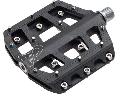"VP Components Vice Trail Pedals - Platform, Aluminum, 9/16"", Black"