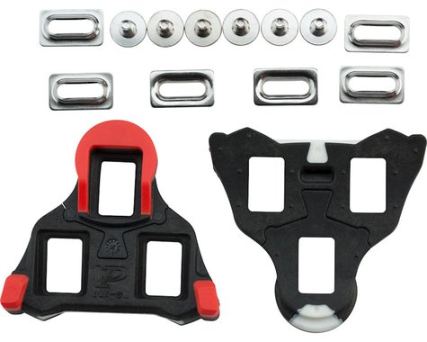 VP Components VP SL Road Cleat 0 Degree Float Black/Red