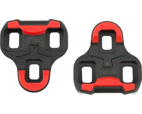 VP Components VP Arc 6 Look Keo Cleats (Red/Black) (9°)