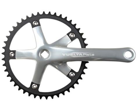 Vuelta Pista Track Crankset (Silver) (Single Speed) (Square Taper) (165mm) (46T)