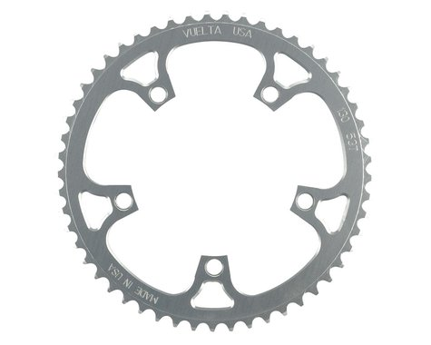 Vuelta Flat Road Chainring (130mm BCD) (53T)