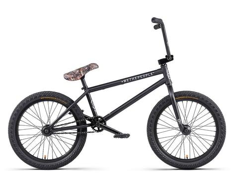 """We The People 2020 Crysis BMX Bike (20.5"""" Toptube) (Matte Black)"""