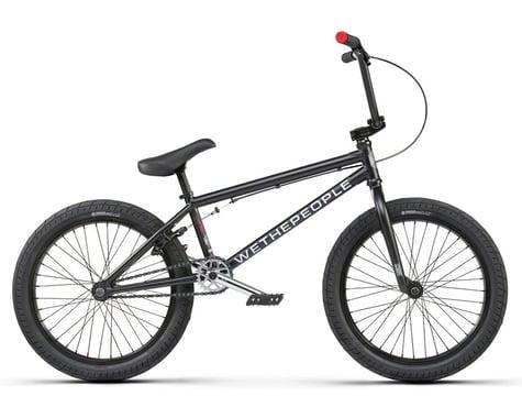 "We The People 2021 CRS 18"" BMX Bike (18"" Toptube) (Matte Black)"