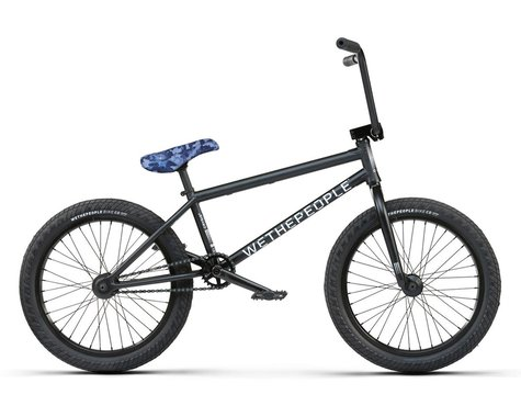 "We The People 2021 Crysis BMX Bike (20.5"" Toptube) (Matte Black)"