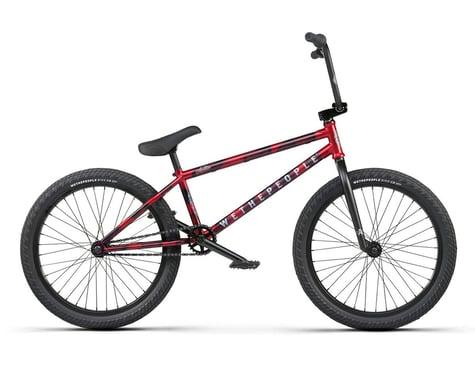 "We The People 2021 Audio 22"" BMX Bike (21.9"" Toptube) (Matte Aqua Red)"