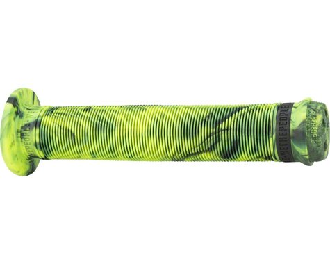 We The People Hilt XL Grips - Purple/Neon Green Marble, Flange