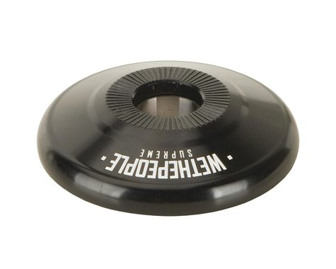 We The People Supreme Alloy Front Hub Guard Black