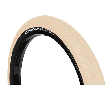 We The People Stickin' Tire - 20 x 2.3, Clincher, Wire, Sand/Black