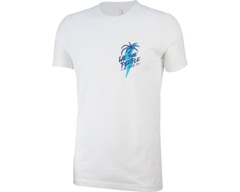 We The People x Fluor South Beach T-Shirt: White