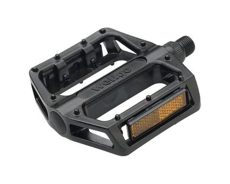 """Wellgo B087 Platform Pedals (Black) (Aluminum) (9/16"""")"""