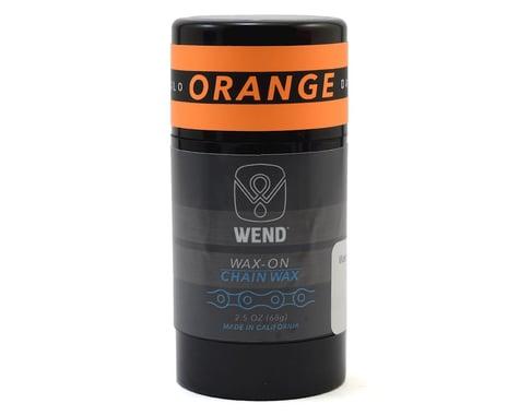 Wend Wax-On Chain Lube (Orange) (2.5oz/80ML)