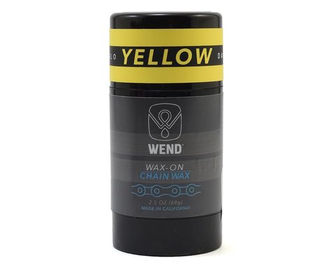 Wend Wax-On Chain Lube (Yellow) (2.5oz/80ML)