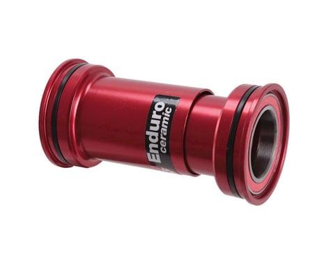 Wheels Manufacturing WMF BB86/92 Press-Fit BB Shimano Ceramic Red