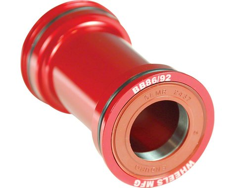 Wheels Manufacturing Bottom Bracket (Red) (BB86/92)