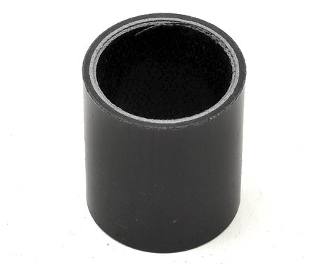 "Wheels Manufacturing 1-1/8"" Carbon Headset Spacer (Black) (40mm)"