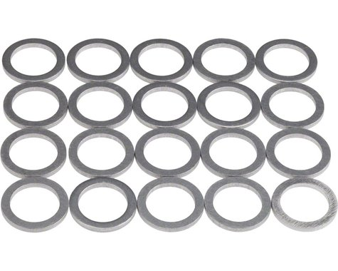 Wheels Manufacturing Aluminum Chainring Spacers (Bag of 20) (1.2mm)