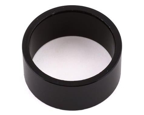 Wheels Manufacturing Headset Spacer (Black) (1-1/8'') (Aluminum) (15mm)