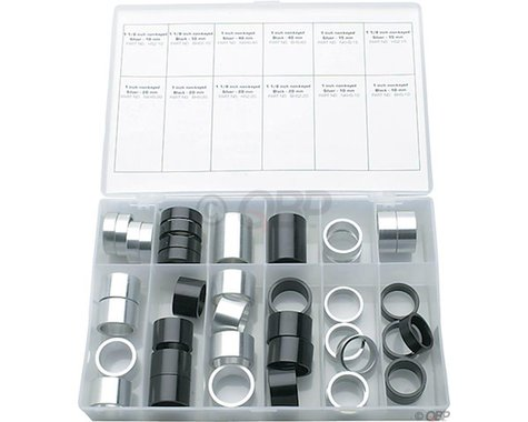 Wheels Manufacturing Tall Stack Spacer Kit 10-40mm 40 Pieces