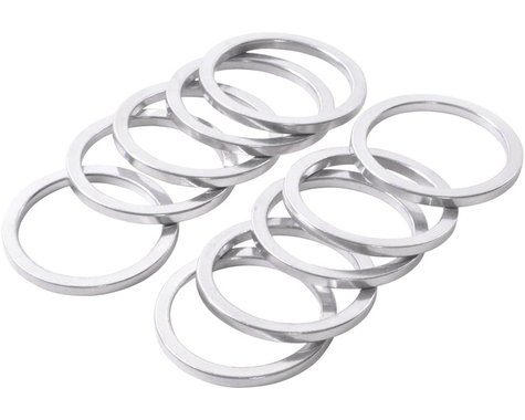 "Wheels Manufacturing 1"" Headset Spacer (Silver) (10) (2.5mm)"