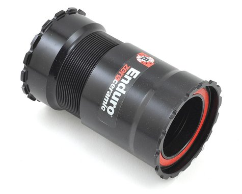 Wheels Manufacturing Zero Ceramic Bottom Bracket (Black) (PF30)