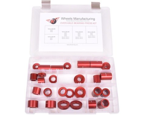 Wheels Manufacturing Over Axle Adaptor Set for Large Sealed Bearing Installation