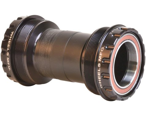 Wheels Manufacturing Outboard Bottom Bracket (Black) (T47)