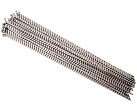 Wheelsmith DB14 Spokes 2.0/1.7 x 258mm Silver, Bag of 50