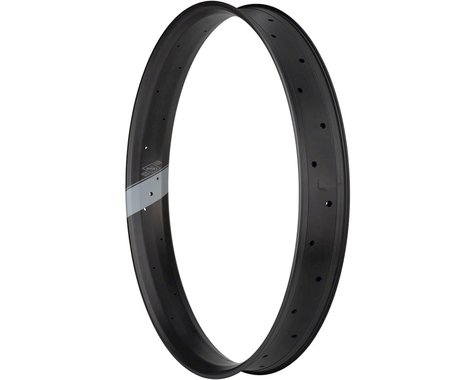 "Whisky Parts Co. No.9 80w Rim - 27.5"" Fat, Disc, Matte Carbon, 32H"